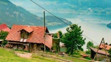 Farming & Sawmilling in the Swiss Alps