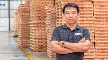 Pichit Chiamcharoen, managerul companiei Pallet Maker Group Co., Thailanda