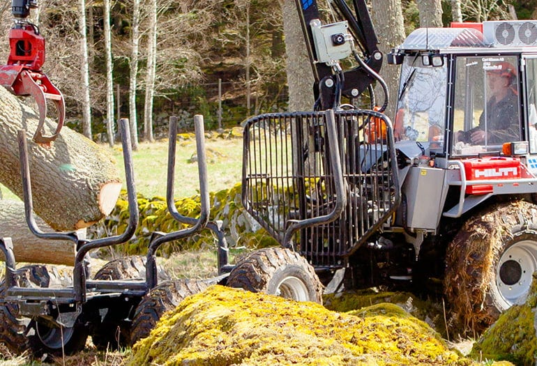 Log handling